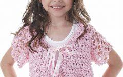 Bolero Infantil Com Franjas Em Crochê – Material e Receita