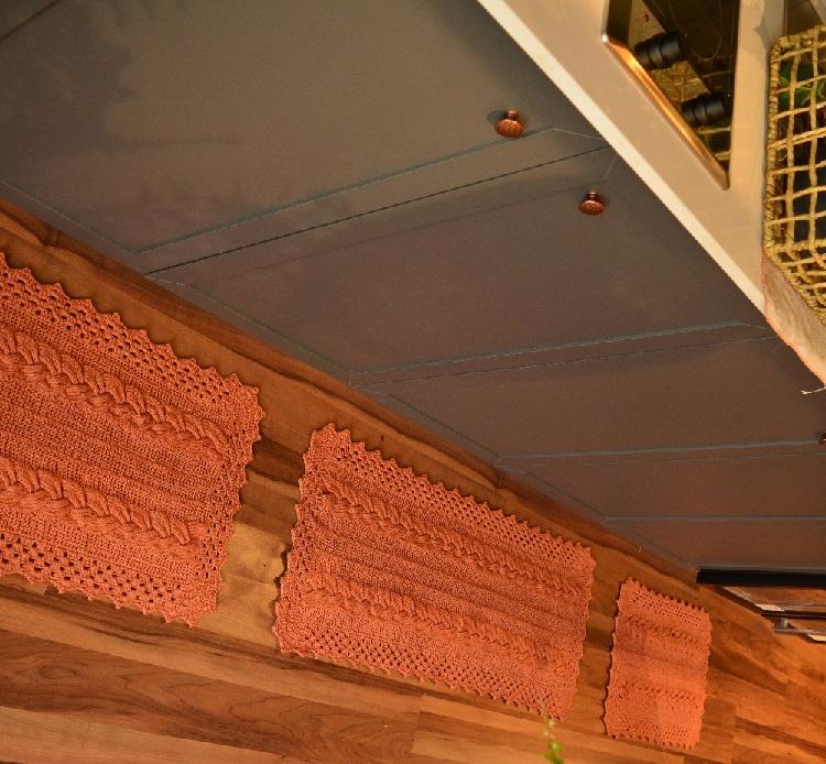 Conjunto Tapetes Bronze Em Tricô – Material e Receita