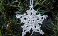 Estrela de Natal Especial Em Crochê – Material e Vídeo