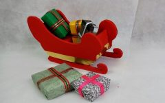 Treno de Papai Noel Reciclado – Material e Vídeo