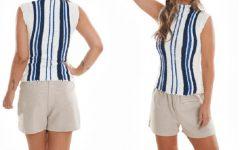 Blusa Listrada Verano Em Crochê – Material e Receita