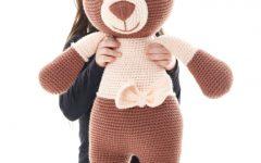 Ursa Lilica Amigurumi – Material e Receita