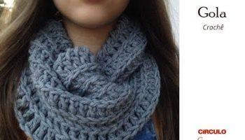 Gola Fácil Crochê – Material e Vídeo
