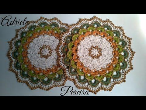 Sousplat Russo Luxo Crochê