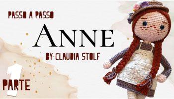 Boneca Anne Amigurumi – Material e Vídeo