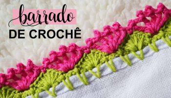 Barrado Colorido Crochê – Material e Vídeo