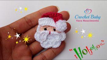 Papai Noel Mine Crochê – Material e Vídeo