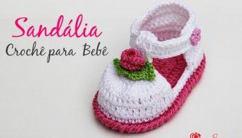 Sandália Crochê Menina – Material, Vídeo Aula