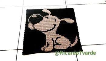 Tapete Cachorro Crochê – Material e Passo a Passo