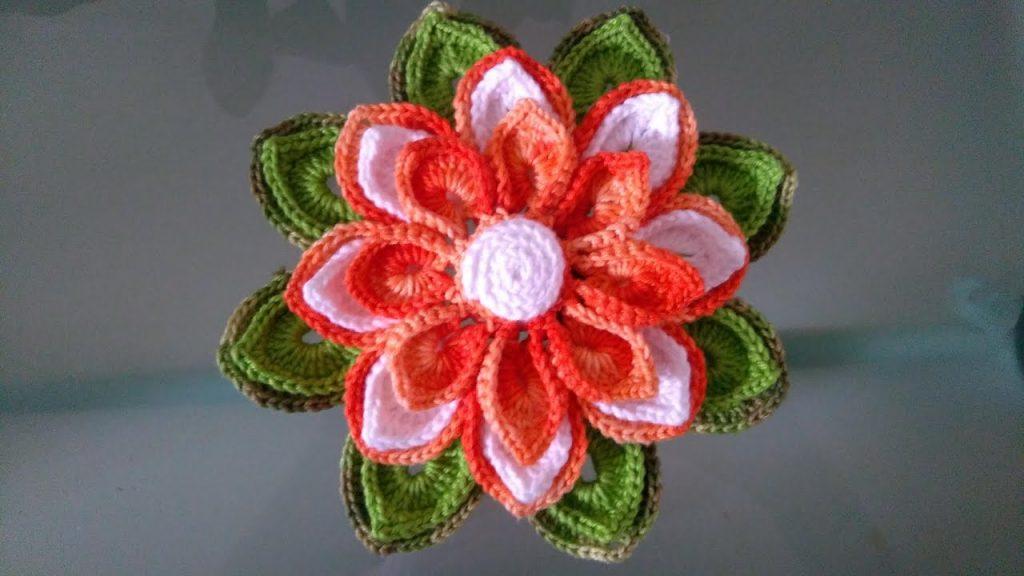 Flor Ternura Crochê