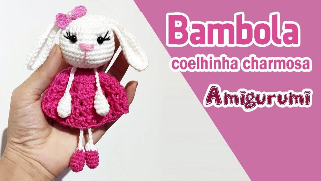Coelhinha Bambola Amigurumi