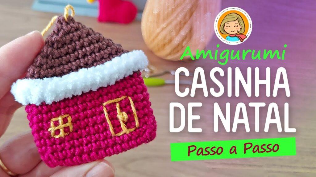Casinha Natal Crochê