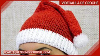 Touca Natal De Crochê – Material e Vídeo